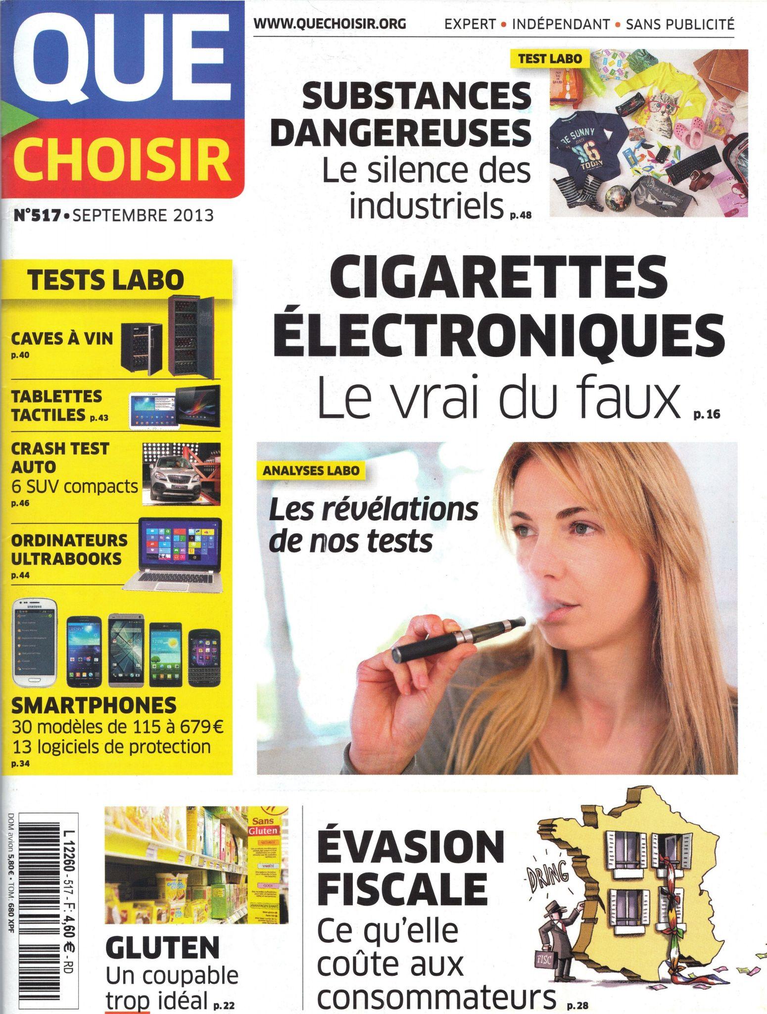 Les magazines que choisir le mensuel que choisir argent for Que choisir poitiers